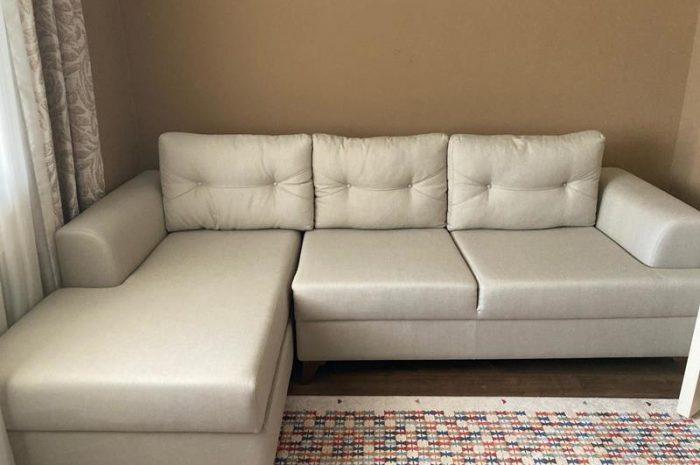 Enza marka L köşe koltuk takımı yastıklarıyla birlikte tam takımdır