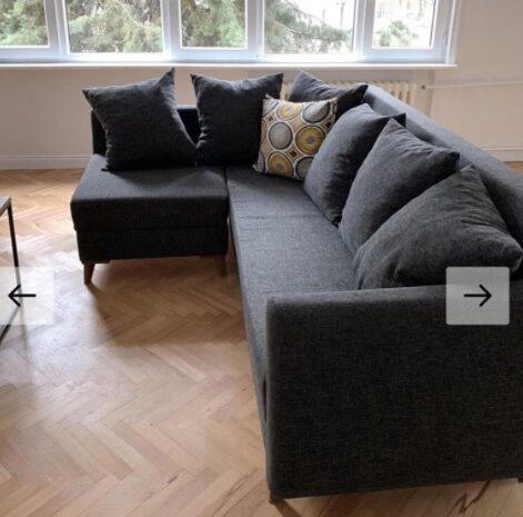220×155 ölçüsünde açılabilir sandıklı köşe koltuk takımı
